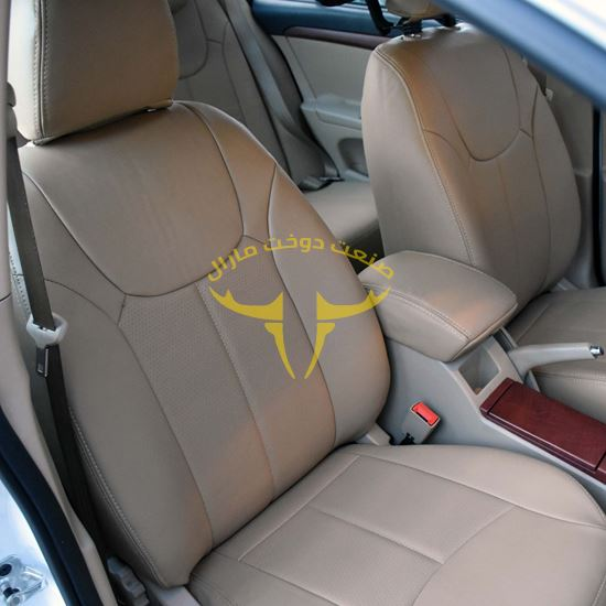 روکش صندلی چرم کرم ام جی 350 MG